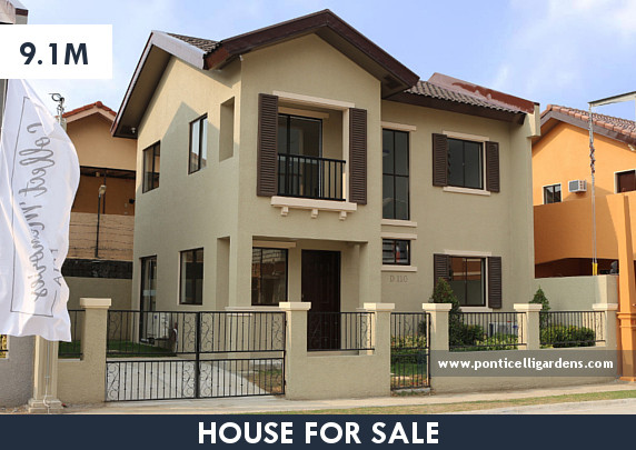 Ponticelli Gardens - Designer 110 House for Sale in Daang Hari, Vista Alabang