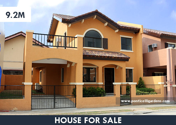 Ponticelli Gardens - Designer 142 House for Sale in Daang Hari, Vista Alabang