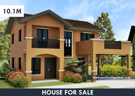 Ponticelli Gardens - Designer 166 House for Sale in Daang Hari, Vista Alabang