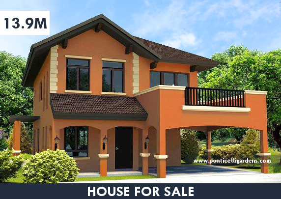 Ponticelli Gardens - Designer 211 House for Sale in Daang Hari, Vista Alabang